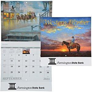 Western Frontier Calendar - Stapled Main Image