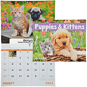 Puppies & Kittens Appointment Calendar - Window Main Image