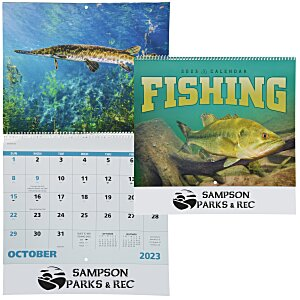 Fishing Calendar - Spiral Main Image