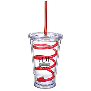 Slurpy Tumbler with Crazy Straw - 16 oz. Main Image