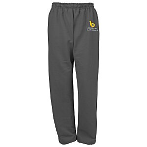 Gildan 50/50 Open Bottom Sweatpants - Embroidered Main Image