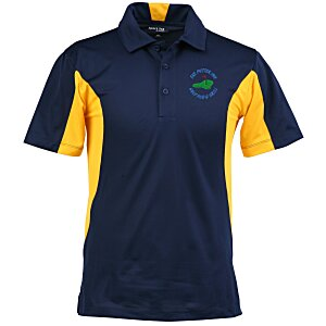 Side Blocked Micropique Sport-Wick Polo - Men's Main Image