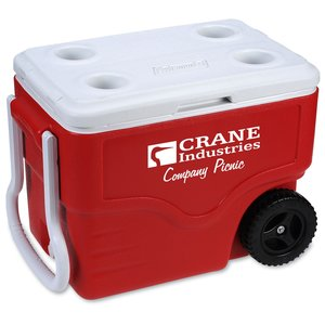 Coleman 40-Quart Wheeled Cooler Main Image