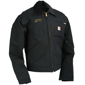 Carhartt Duck Detroit Jacket - Blanket Lined Main Image