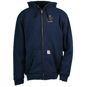 Carhartt Thermal-Lined Hooded Zip-Front Sweatshirt Main Image
