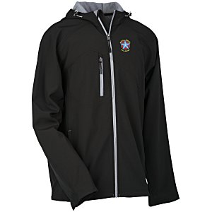 North End Hooded Soft Shell Jacket - Men's