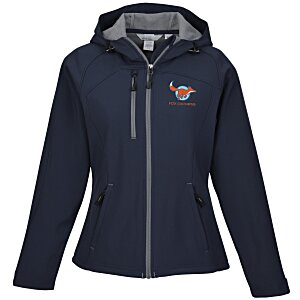 North End Hooded Soft Shell Jacket - Ladies' Main Image