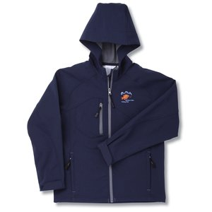 North End Hooded Soft Shell Jacket - Youth Main Image