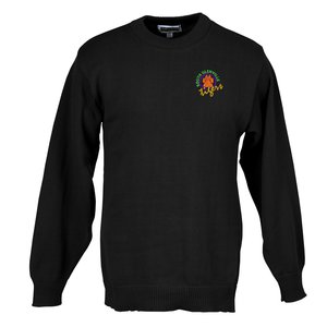 Jersey Stitch Crew Neck Sweater - Men's Main Image
