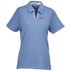 Velocity Piped Placket Polo - Ladies' Main Image