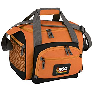 12-Can Convertible Duffel Cooler - Full Color