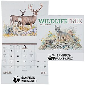 Wildlife Trek Calendar - Stapled Main Image