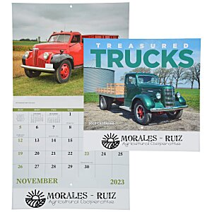 Treasured Trucks Calendar - Stapled Main Image