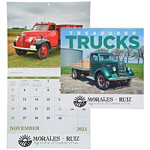 Treasured Trucks Calendar - Spiral Main Image