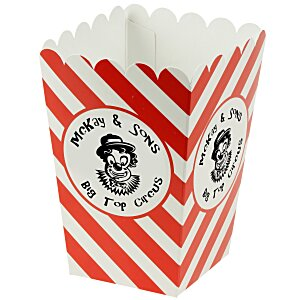 Scoop-Style Popcorn Box - Medium Main Image