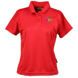 Moisture Wicking Microfiber Jersey Polo - Ladies' Main Image