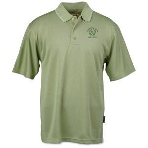 Moisture Wicking Microfiber Jersey Polo - Men's