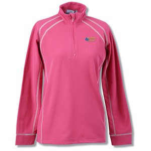 Vansport Lightweight Waffle 1/4 Zip Fleece - Ladies' Main Image