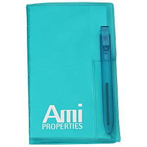 Memo Book with Flat Pen - Translucent