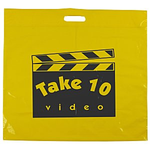"Oxo-Biodegradable Take Home Bag - 20"" x 20"" Main Image"