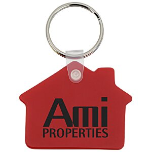 House Soft Key Tag - Opaque