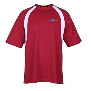 Harriton Athletic Sport Colorblock T-Shirt Main Image