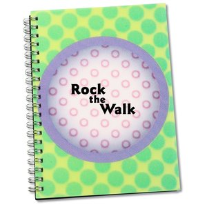 3D Spiral Notebook - Circle Main Image