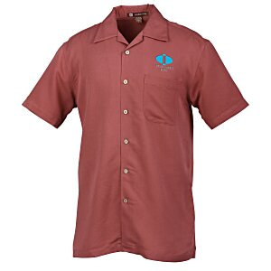 Harriton Bahama Cord Camp Shirt - Men's