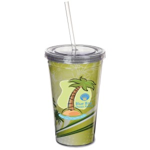 Spirit Insert Tumbler with Straw - 16 oz. Main Image