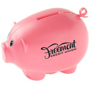 Action Piggy Bank - Opaque Main Image