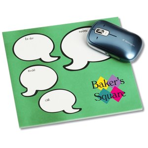 Notepad Mouse Pad - Message Bubbles Main Image