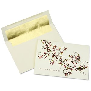 Holiday Berries Greeting Card - Main Image
