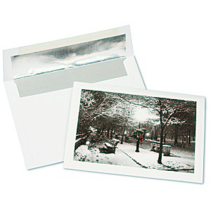 Winter Park Greeting Card Main Image