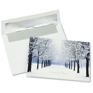 Winter's Path Greeting Card Main Image