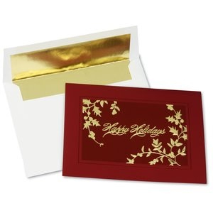 Glistening Holiday Greeting Card Main Image