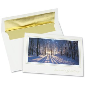 Winter Woods Greeting Card Main Image