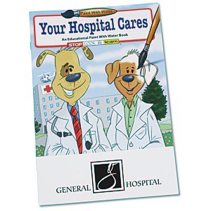 Paint with Water Book - Your Hospital Cares Main Image