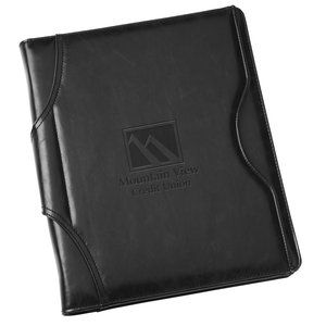Brixen Zippered Padfolio Main Image