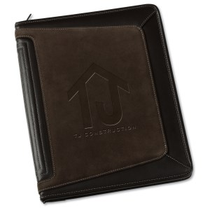 Tuscon Zippered Padfolio