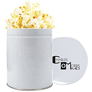 1 Quart Gourmet Popcorn Tin - Kettle Corn Main Image