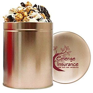 1 Quart Gourmet Popcorn Tin - Cookies & Cream Main Image