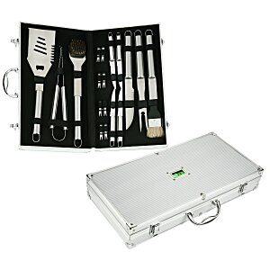 18-pc BBQ Set in Case