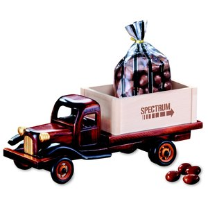 1950's Flat Bed Truck w/Chocolate Almonds Main Image