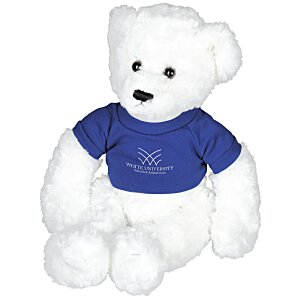 White Dexter Teddy Bear Main Image