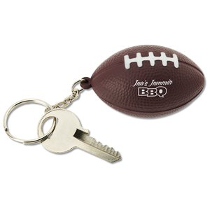 Squishy Key Tag - Football Main Image