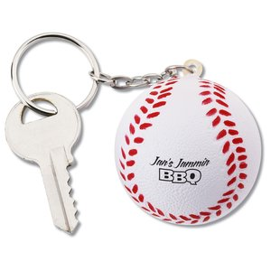 Squishy Key Tag - Baseball