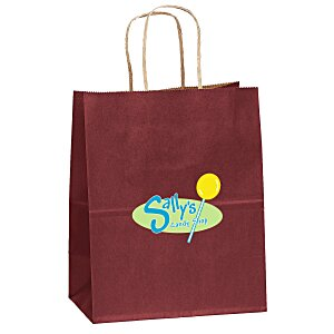 "Matte Shopping Bag – 9-3/4"" x 7-3/4"" - Full Color Main Image"