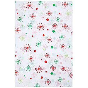 Tissue Paper - Seasons  Greeting Snowflakes Main Image