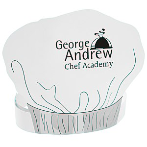 Paper Chef's Hat Headband