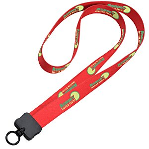 "Dye-Sublimated Stretchy Lanyard - 3/4"" - 34"" Main Image"
